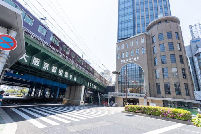 ▲神戸玄関口、三宮の顔が大きく変わった。